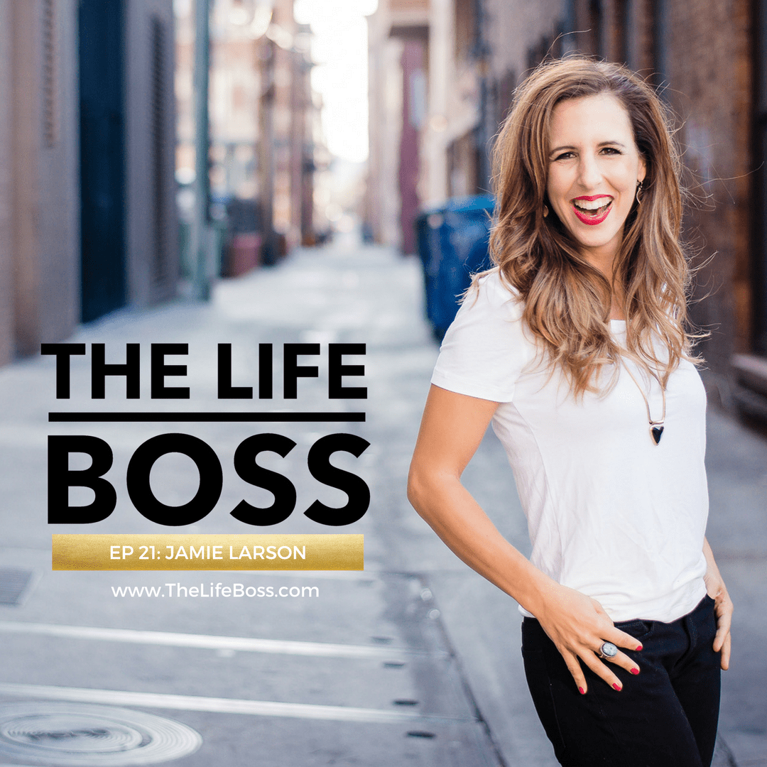Jamie Larson, Founder of The Snap Society, discusses pricing for profit on The Life Boss Show