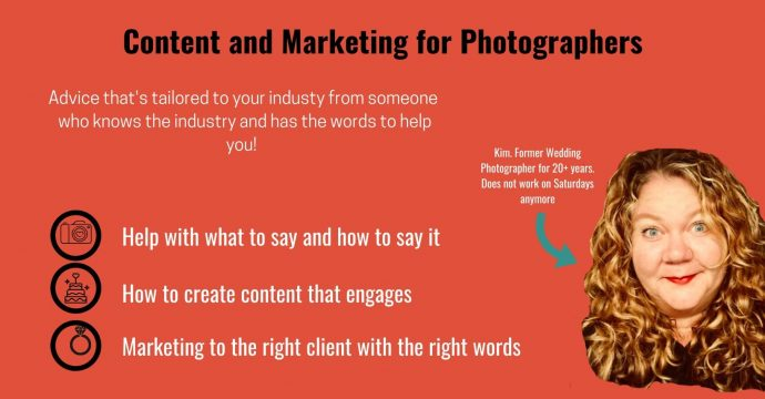 Content & Marketing for Photographers